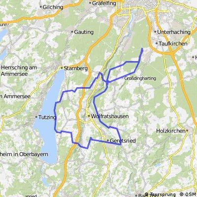 Geretsried/Starnberg 87km