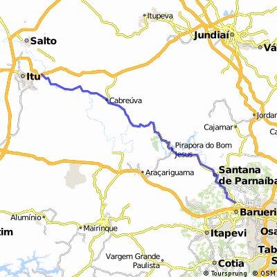 estrada de romeiros