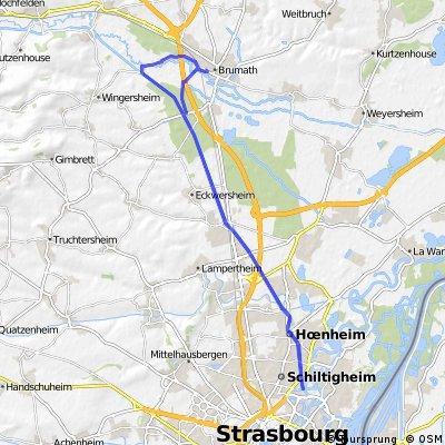 Véloroute du canal de la Marne au Rhin