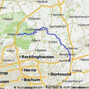 Stever Radweg - Burg und Saline im Ruhrgebiet