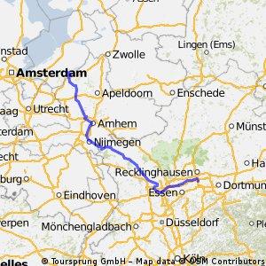 In 3 Tagen nach Harderwijk