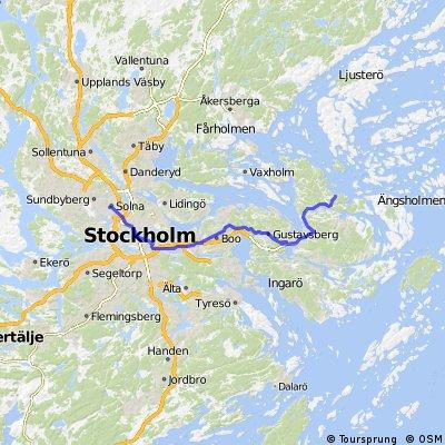 Solna- Norrava kayak