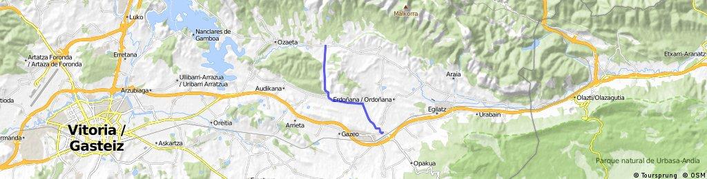 Agurain-Urkiola-Orduña-Herrera-Agurain