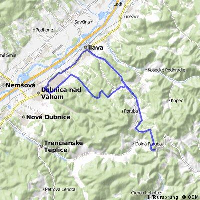 Dubnica - Homolka - Dubnica