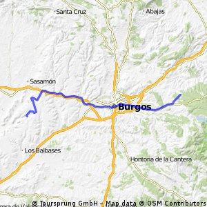 Jakobsweg per Rad Etappe 5: San Juan de Ortega – Hontanas (68,1 km)