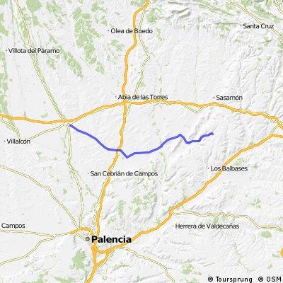 Jakobsweg per Rad Etappe 6: Hontanas – Carrión de los Condes (61,8 km)