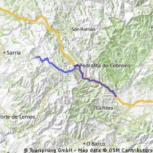 Jakobsweg per Rad Etappe 11: Villafranca de Bierzo – Triacastela (58 km)
