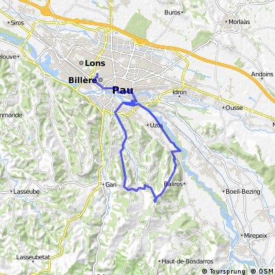 (~30km) - Boucle tranquille par la vallée heureuse