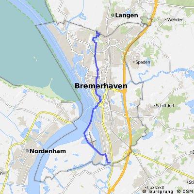 8-1) Bremerhaven-Weser-Stadt bis Langen
