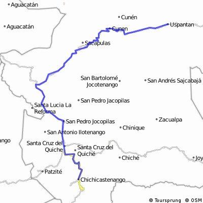 Chichicastenango - Uspantan