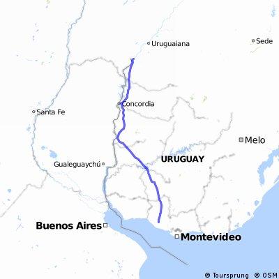 Ruta 3 - Josè Gervasio Artigas