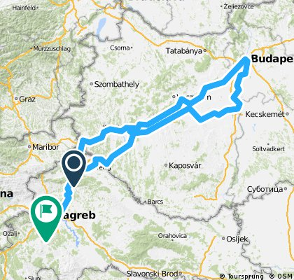 Zagreb - Balaton - Budimpešta - Zagreb