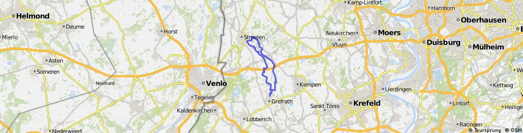 Von Grefrath bis Straelen / Niers & Nette