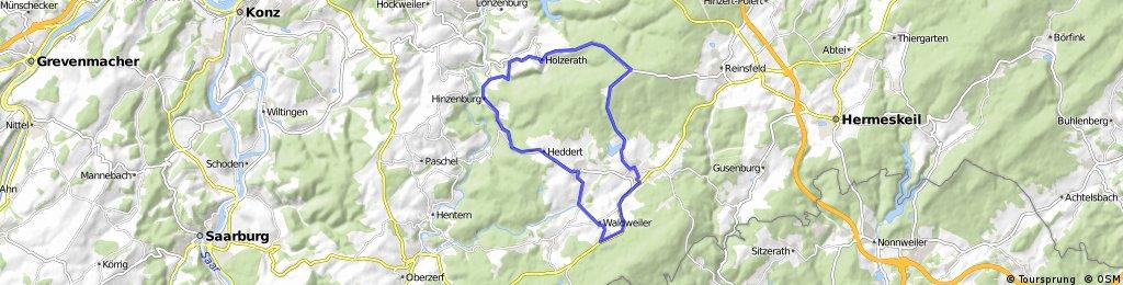 Kell-Heddert-Schöndorf-Holzerath-Rösterkopf-Kell