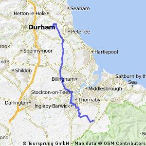 Durham to Stokesley
