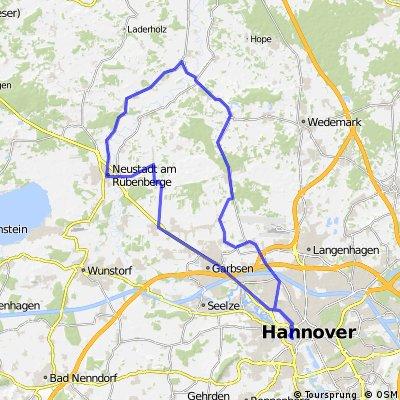 Hannover-Wedemark-Hannover