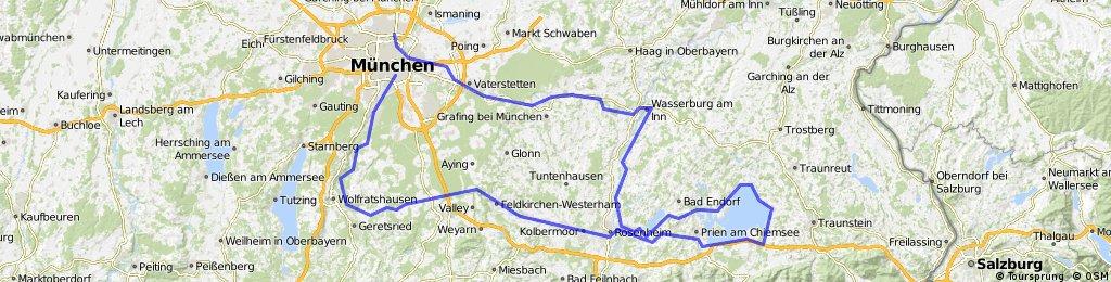 München - Chiemsee