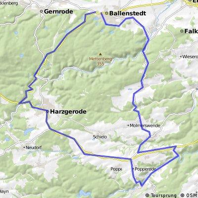 Harz int, G1 2.Variante