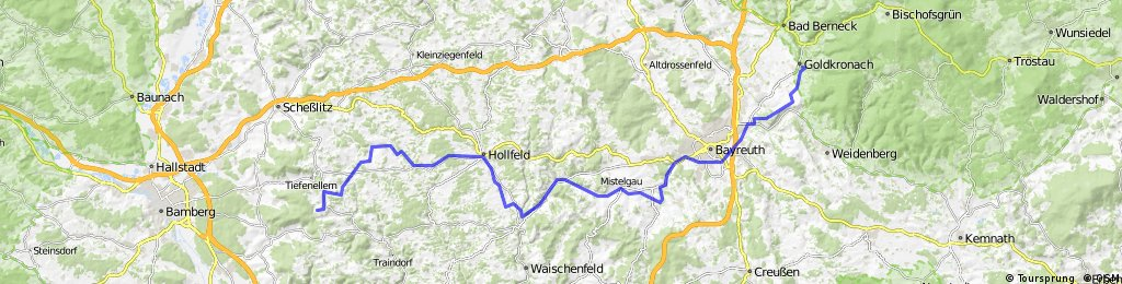 Gok-Lindach - Route 1