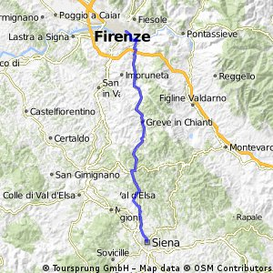 L  10 th  stage Siena | Florence