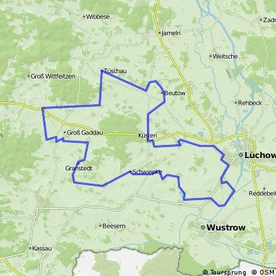 Wendlandtour,49 km / 05.09.15