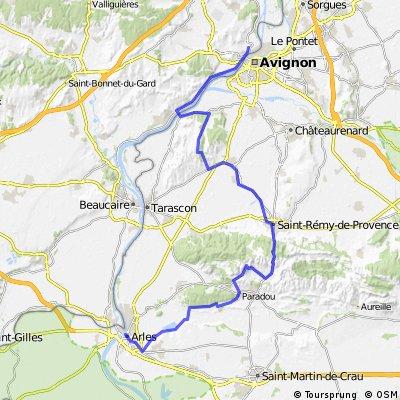 Villeneuve les Avignon - Arles(H-H)