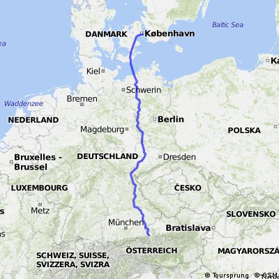 Cycling routes and bike maps in and around Trnby Bikemap Your