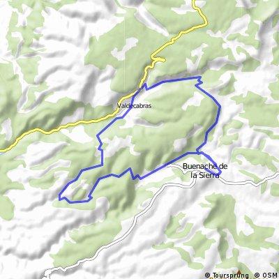 Tramo I Maraton Sendas de Cuenca. Buenache de la Sierra.