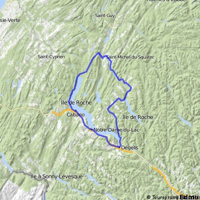 Tour du Lac Temiscouata