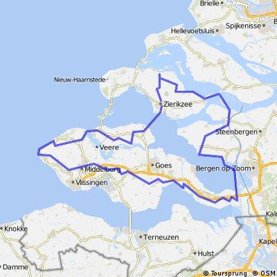 *NL. Zeeland; 6 Smalsteden Toer