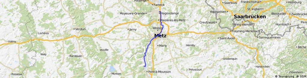 Pont à Mousson - Mondelange