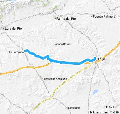 Ecija - La Campana (ida)