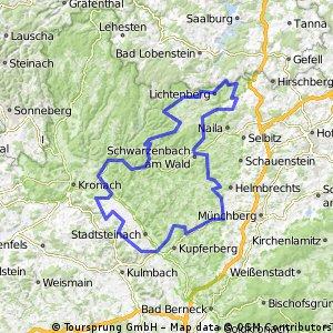 WSV-Scherdel-Frankenwaldtour-125 km