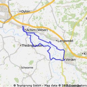 Rundtour Achim-Verden