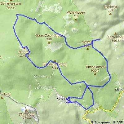 """Harzmobil E-Bike Tour """"Durch den wildromantischen Harzwald zum Brocken"""""""