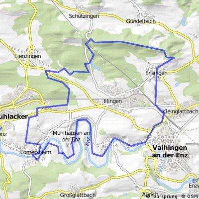 Eselsburg Runde 35km