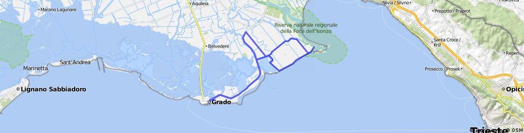 Percorso Bici Triathlon di Grado