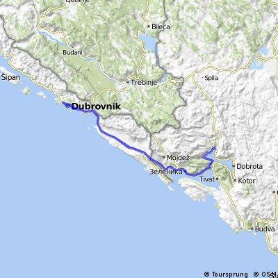 Montenegro 4. nap: Igalo (Sutorina) - Dubrovnik - Risan