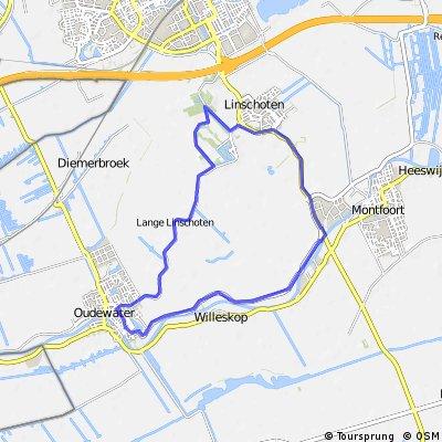 Rondje Montfoort Oudewater Linschoten