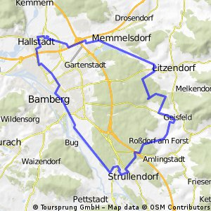 1. Mai 2008 Fußweg (optimal mit dem Rad)