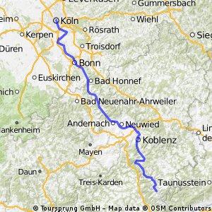 Heidelberg-Köln, Teil 2