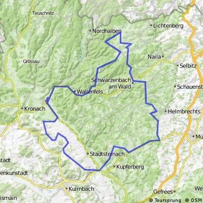 WSV-Scherdel-Frankenwaldtour-100 km