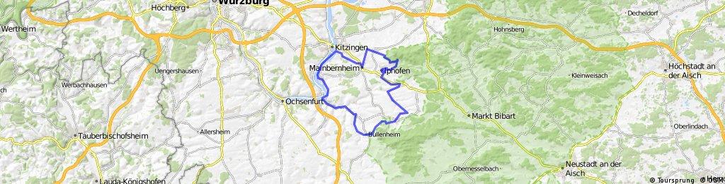 Marktbreit - Bullenheim - Iphofen - Marktbreit