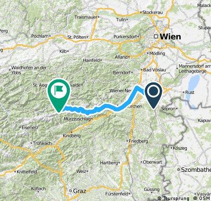 Mariazell übers Alpl