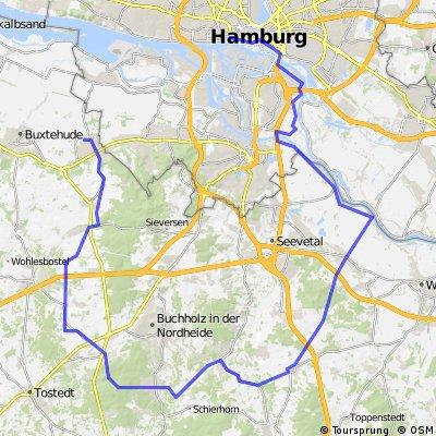 Testdrive durch Hamburger Umland