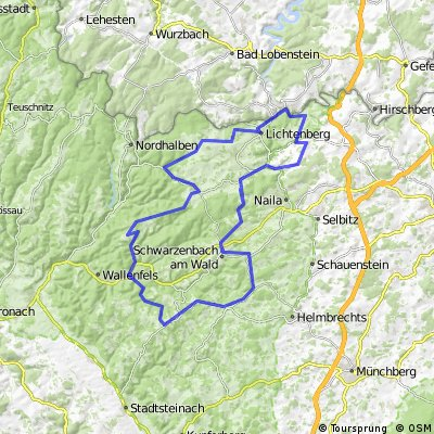 WSV-Scherdel-Frankenwaldtour - 80 km