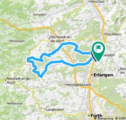 Route von Martin Dornheim