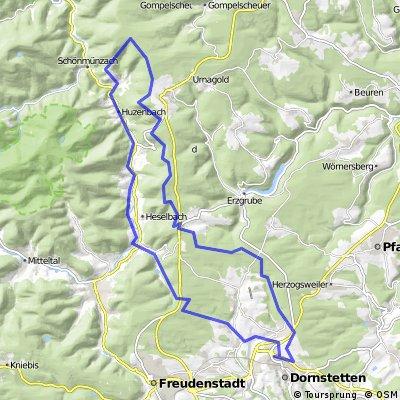 Do - Besenfeld - Schwarzenberg - Klobach - Do