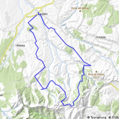 VII Marcha cicloturista Sierra de Ayllón