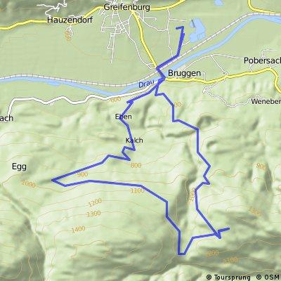 Greifenburg - Waisacher Alm